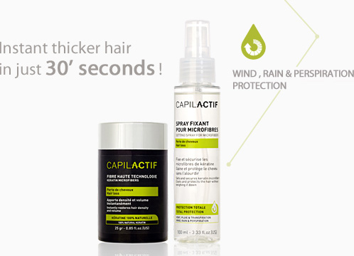 Capil'Actif Hair loss - HIGH TECHNOLOGY FIBERS